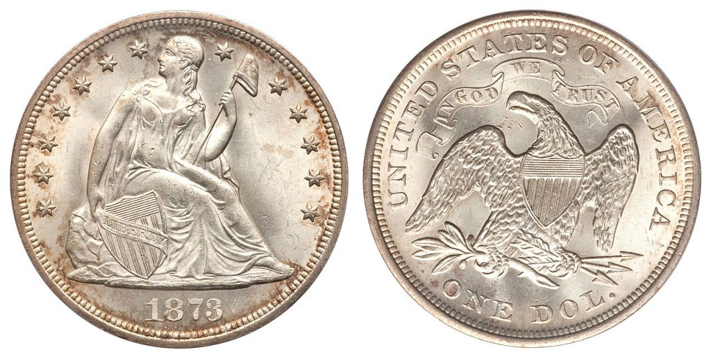 By US Mint (coin), Heritage Auctions (image) - Heritage Auctions Lot 3296, 11 August 2010, Public Domain, https://commons.wikimedia.org/w/index.php?curid=39781669