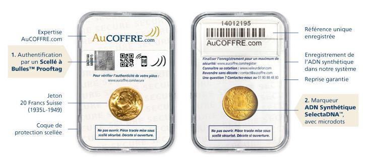20 Francs Suisse Max - AuCOFFRE.com