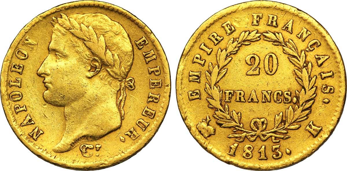 20 francs or napoleon étalon or