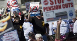 Fonds de pension routiers ruinés USA