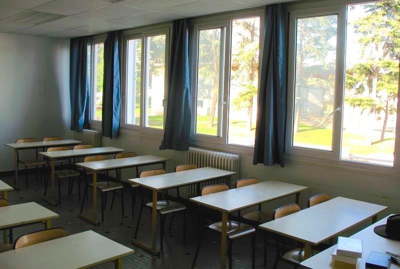 Classe de lycée