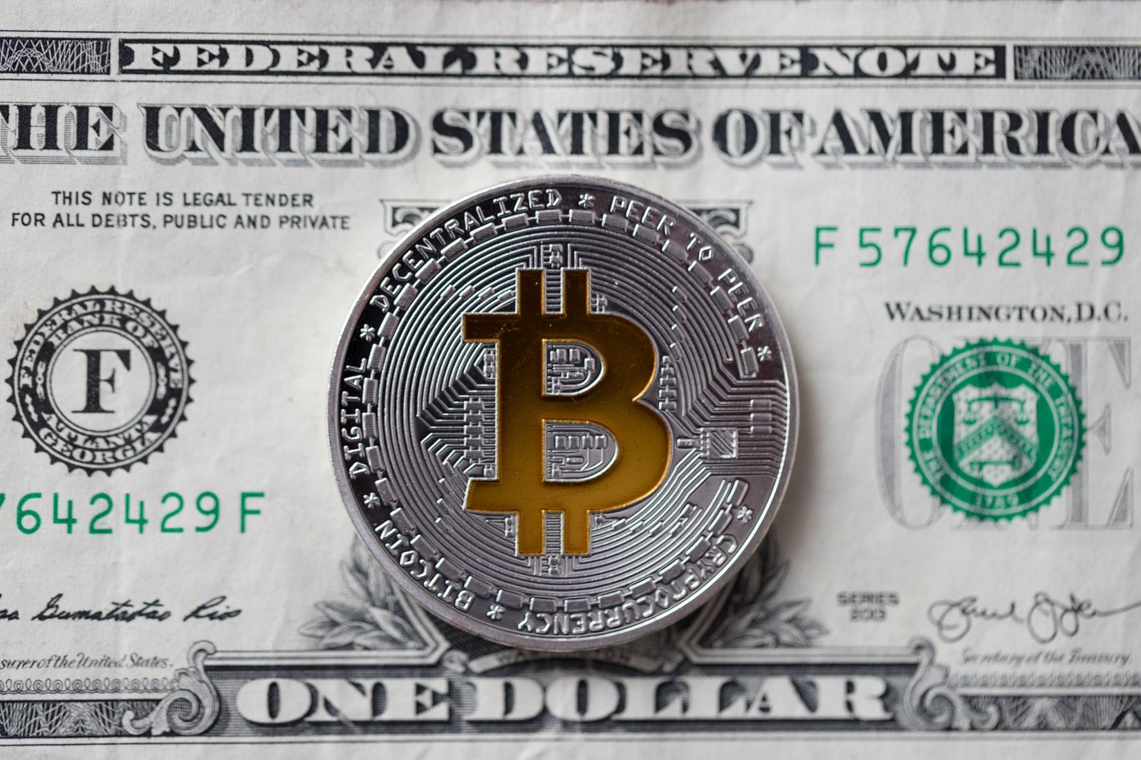 BTC vs dollar