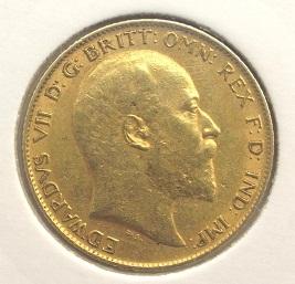 Demi souverain Edouard VII