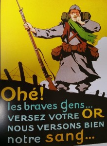 Donnez votre or - propagande pendant la Grande Guerre