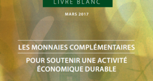 think tank monnaies en transition livre blanc