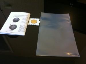 Envoi de pièces - préparation de l'envoi