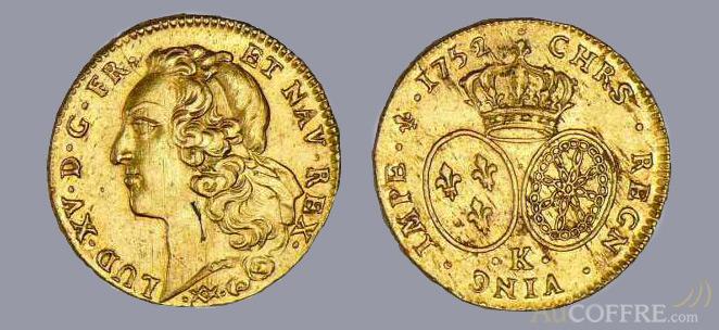 Louis d'or - pièce en or