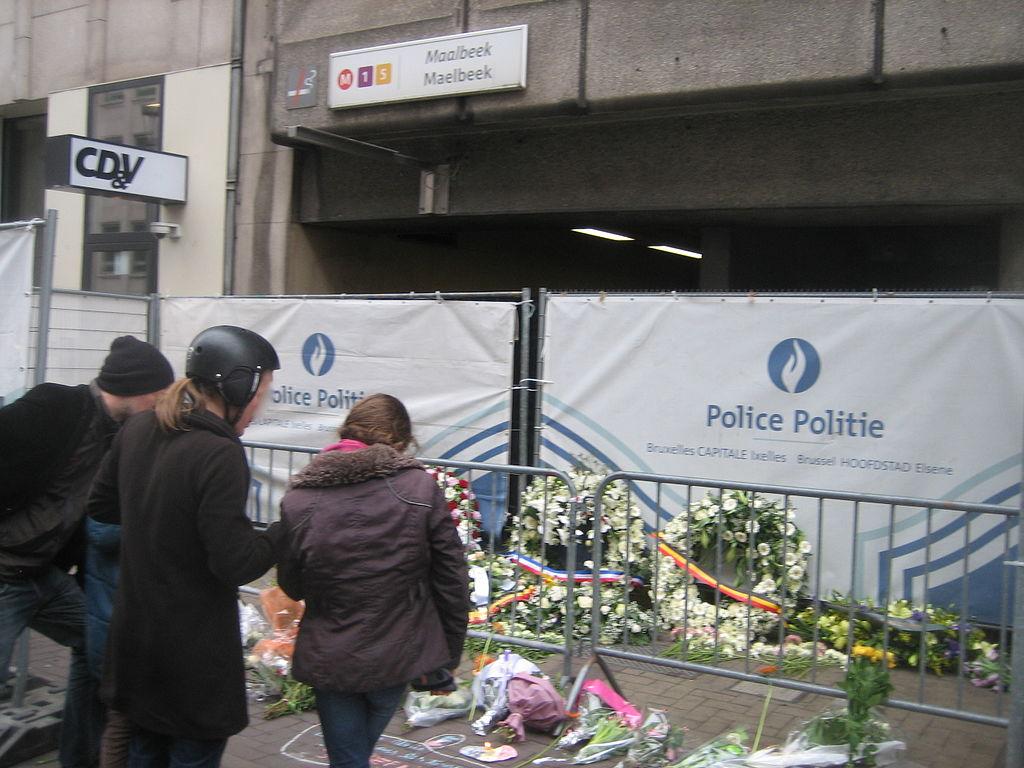 Attentat métro Bruxelles - photo Zanneke