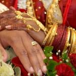 Mariage indien bijoux or