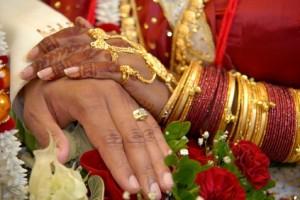 En Inde, l'or prend une place particulière lors des mariages par exemple. © Fotolia.