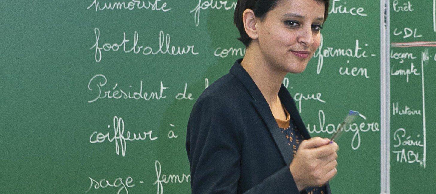 Najat Vallaud Belkacem ministre de l'éducation