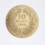 10F Napoléon III tête laurée revers