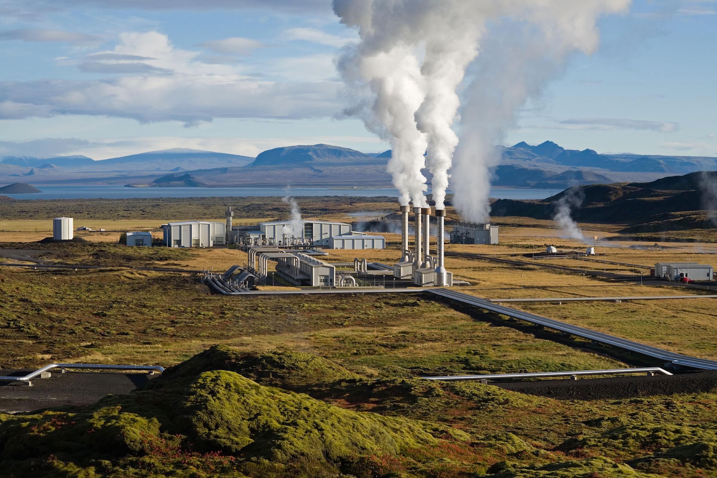 Islande centrale géothermique Banque européenne d'investissement