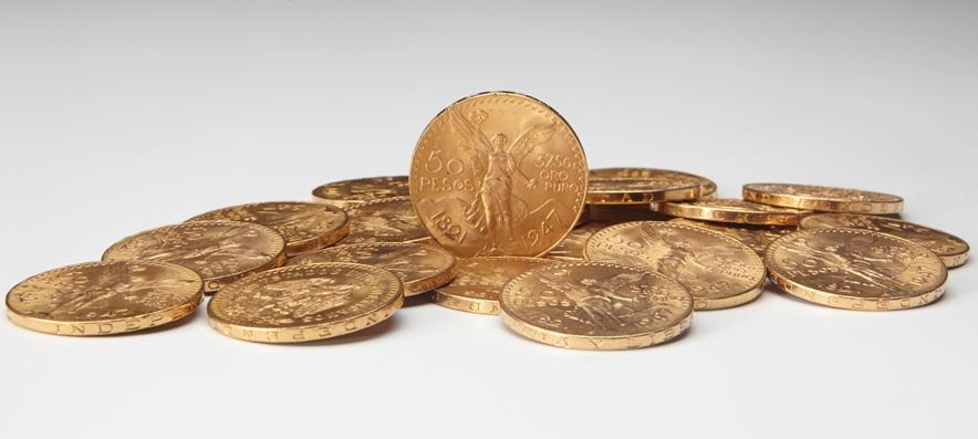 Pesos Mexicain pièce en or