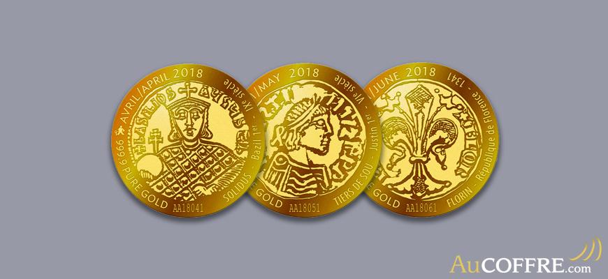 La VeraMax Collector est une pièce d'or pur d'un dixième d'once.