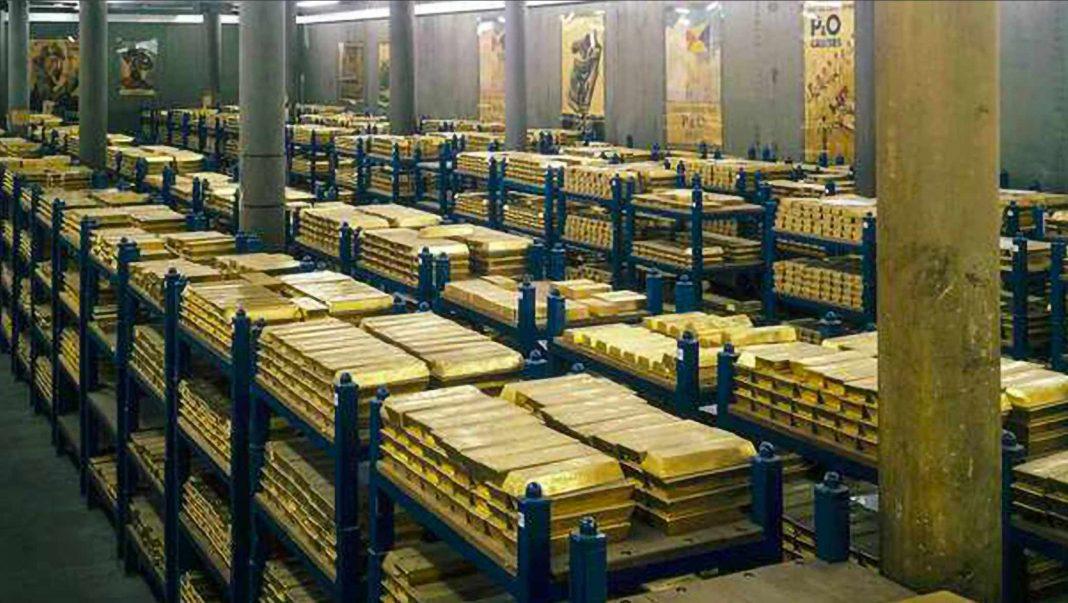 Top 10 des Pays aux Plus Grands Stock d'Or (2021)