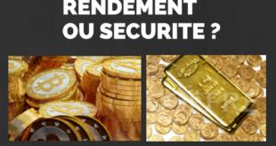 investissement épargne rendement sécurité