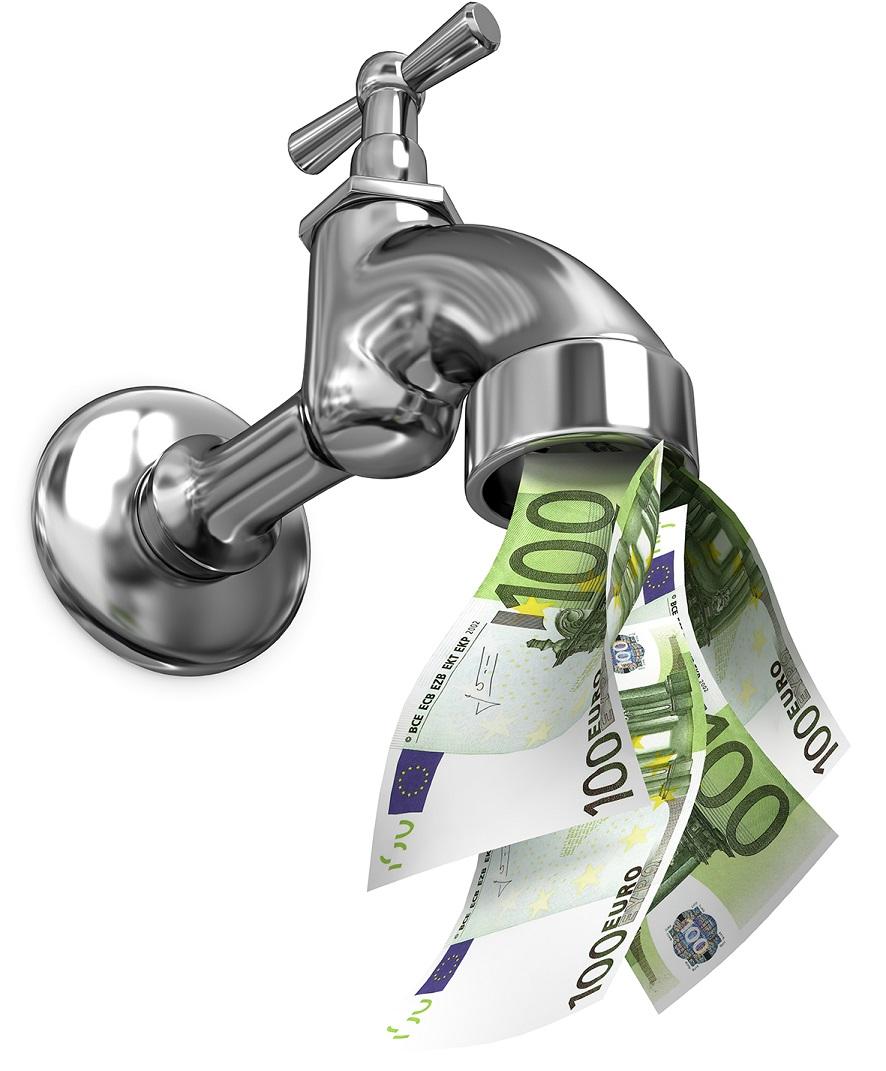 Robinet argent patrimoine universel