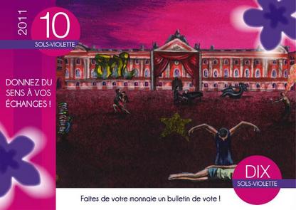 Sol Violette, monnaie locale toulousaine