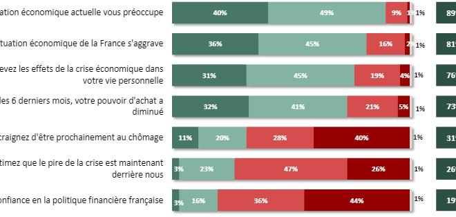 Français et la situation économique