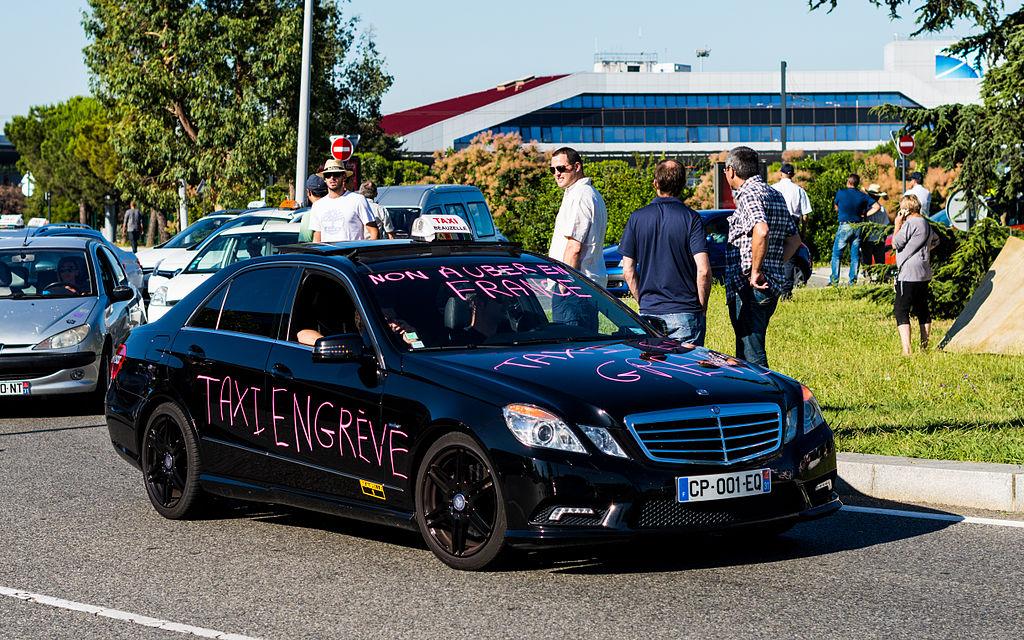taxis contre uber rachat de licence