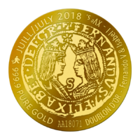 Vera Max Collector Doublon d'or, juillet 2018
