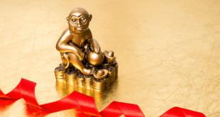 Année du singe - tendance de l'or en Chine
