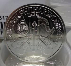 Philharmonique de Vienne en argent pur d'une once