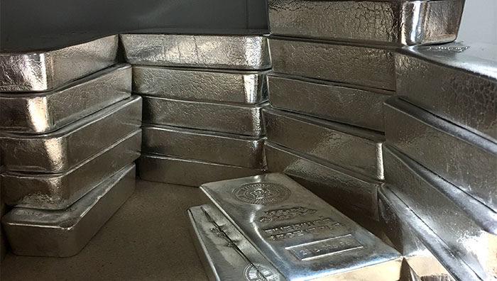 argent métal cours marché