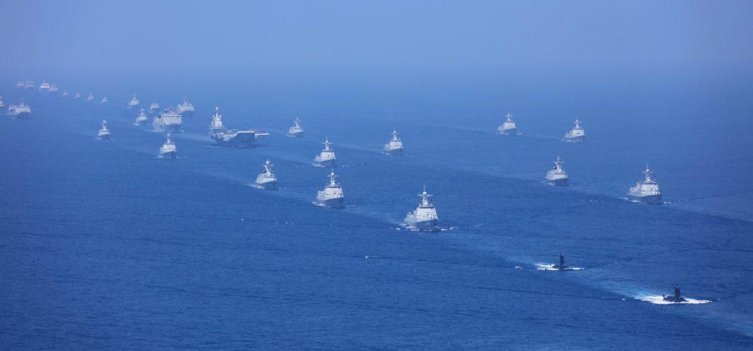 défilé de la marine chinoise en 2018