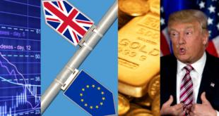 bourse brexit cours de l'or trump erreur prévisions