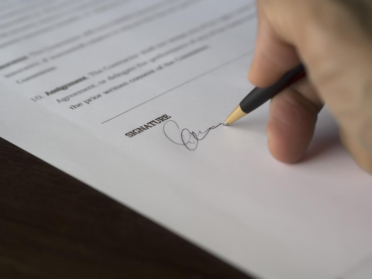 Engagement contractuel