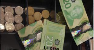 demi gaspésien 20 dollar canadien