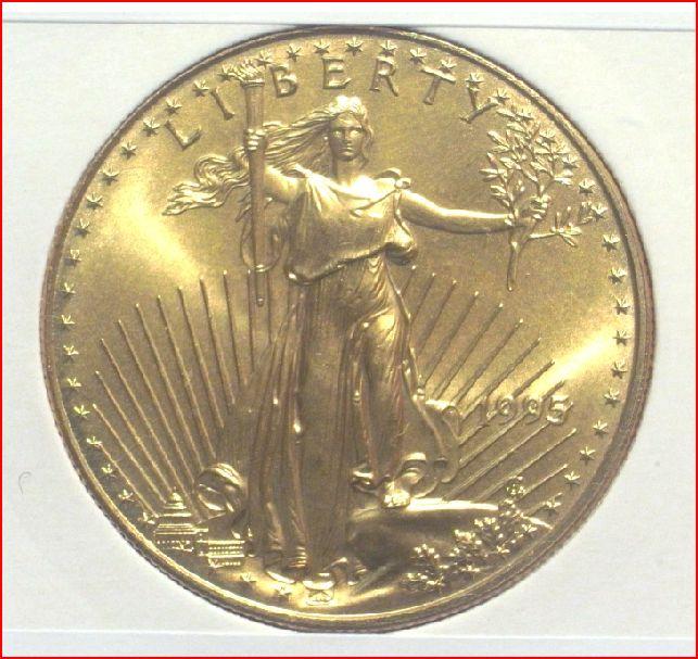 L'Eagle est la pièces d'or américaine la plus vendue dans le monde aujourd'hui.