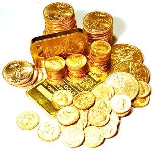 En lingots et surtout sous forme de pièces, achetez de l'or !