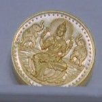 Les pièces d'or frappées à l'image de Lakshmi, la déesse de la fortune et de la prospérité, sont parmi les cadeaux les plus populaires en Inde