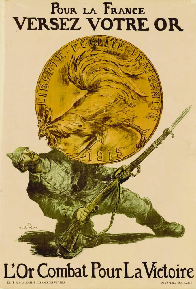L'or, levain de la victoire, campagne de 1916