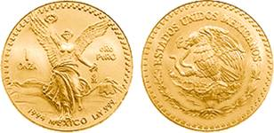 Libertad gold coin of 1994