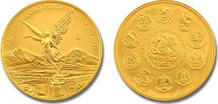 Libertad gold coin of 1996