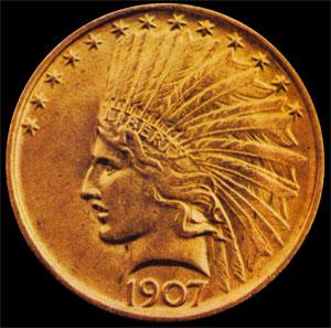 el Águila de 10 dólares