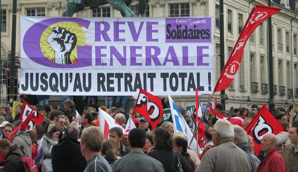 manifestation syndicats loi el khomry loi travail