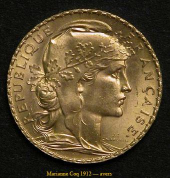La moneda de oro Marianne Coq