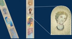 Signes de sécurité sur les nouveaux billets d'euros