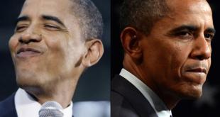 obama fait le show et souffle le froid