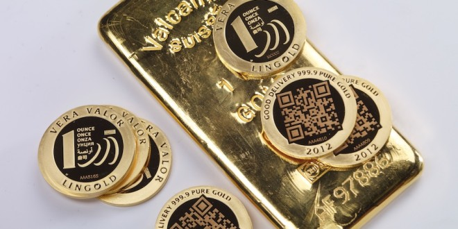 pièces d'or et lingots