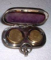 Porte louis - Pour pièces d'or Napoléon de 10 et 20F