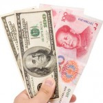 Yuan et dollars